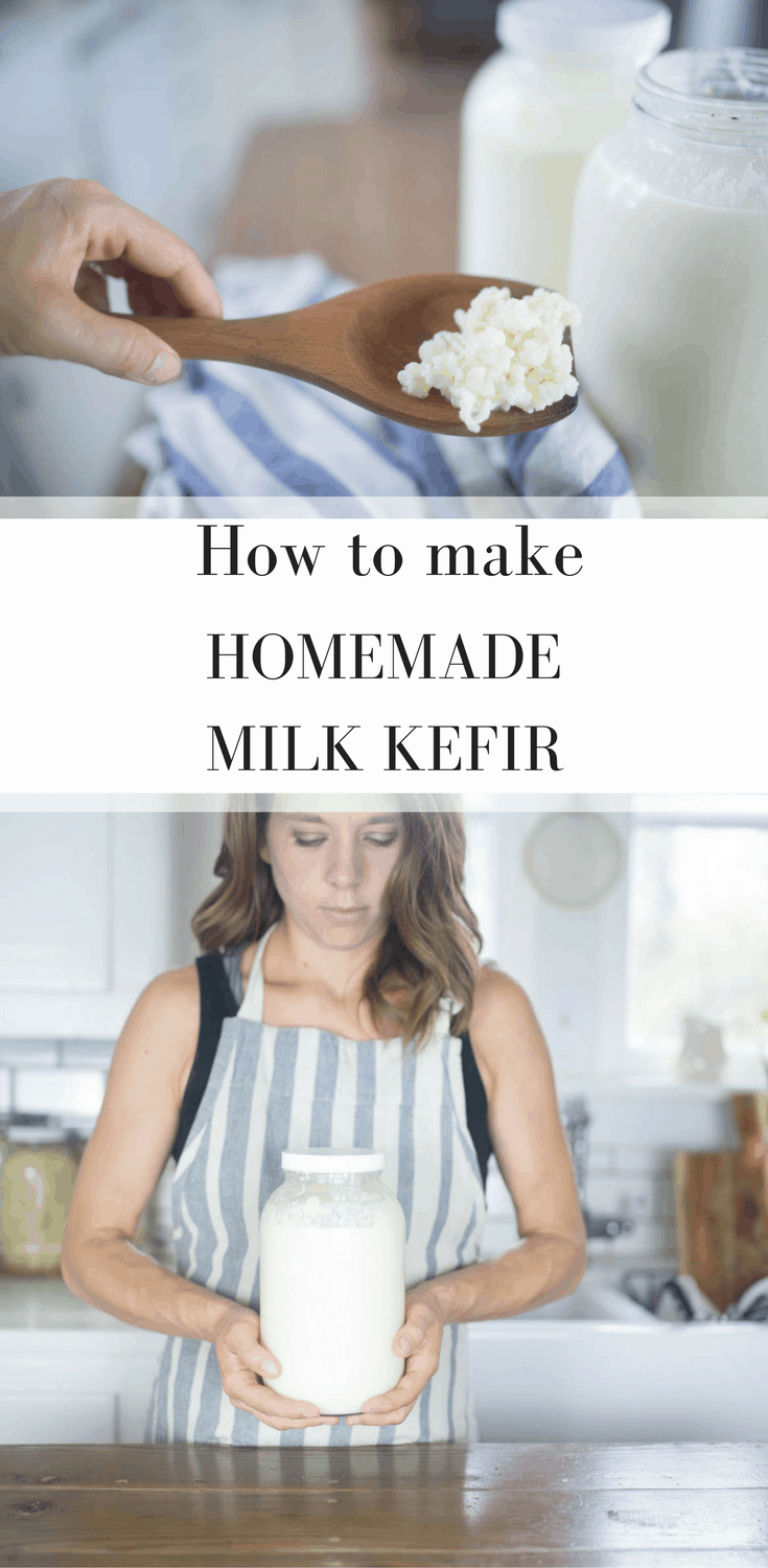How to Make Milk Kefir, a Probiotic Rich Fermented Drink with Video Tutorial