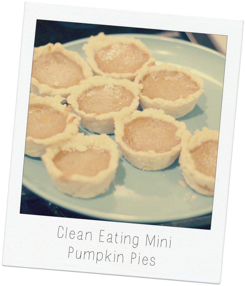 mini pumpkin pies 10