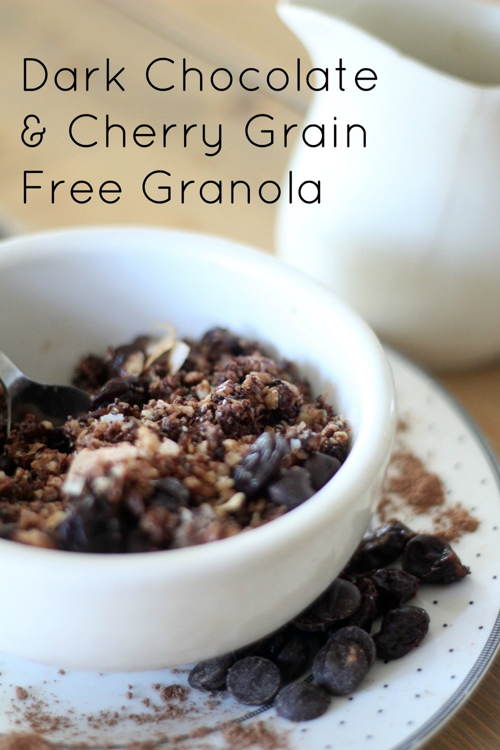 Dark Chocolate and Cherry Grain Free Granola - Farmhouse ...
