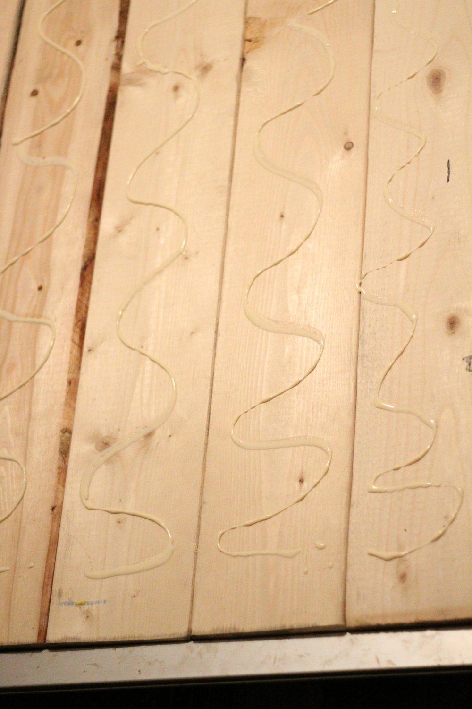 craft room desk glue