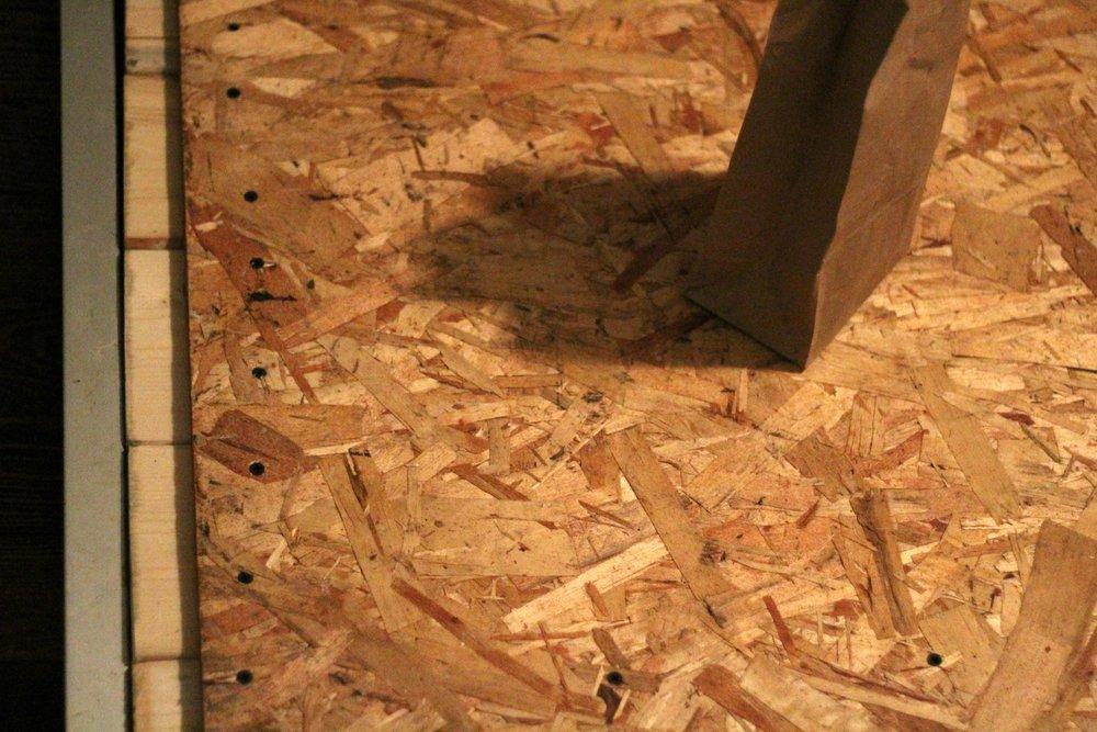 craft room desk screws