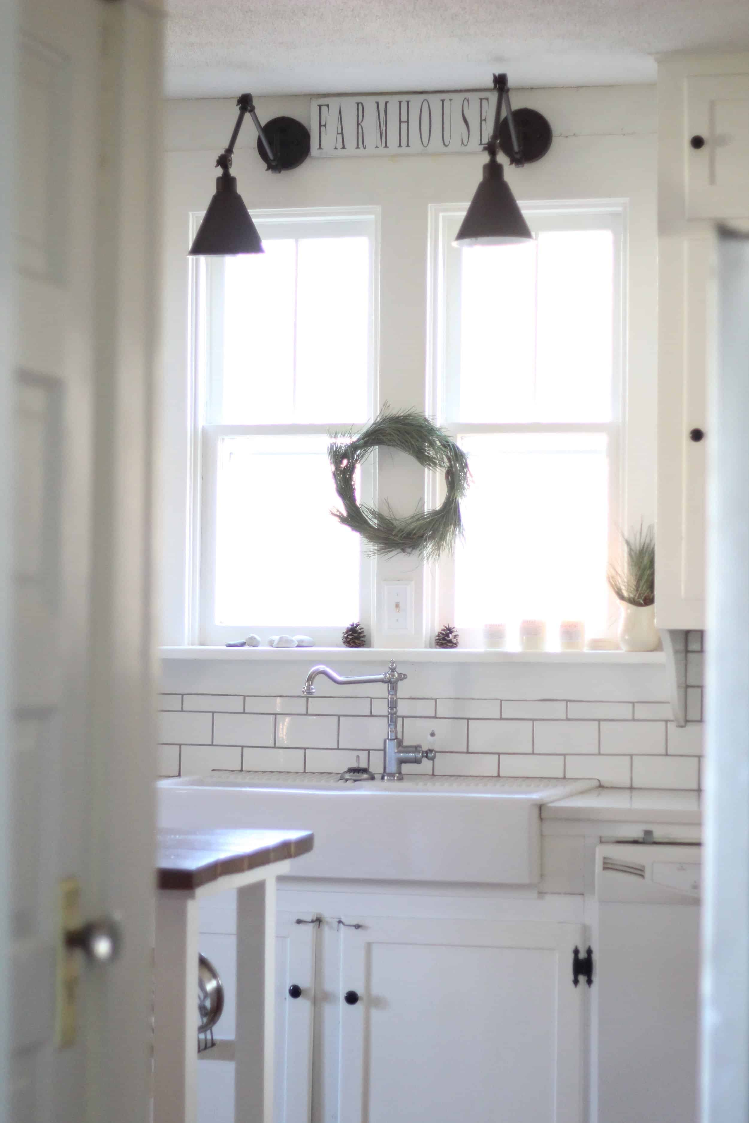 Cleaning subway tile