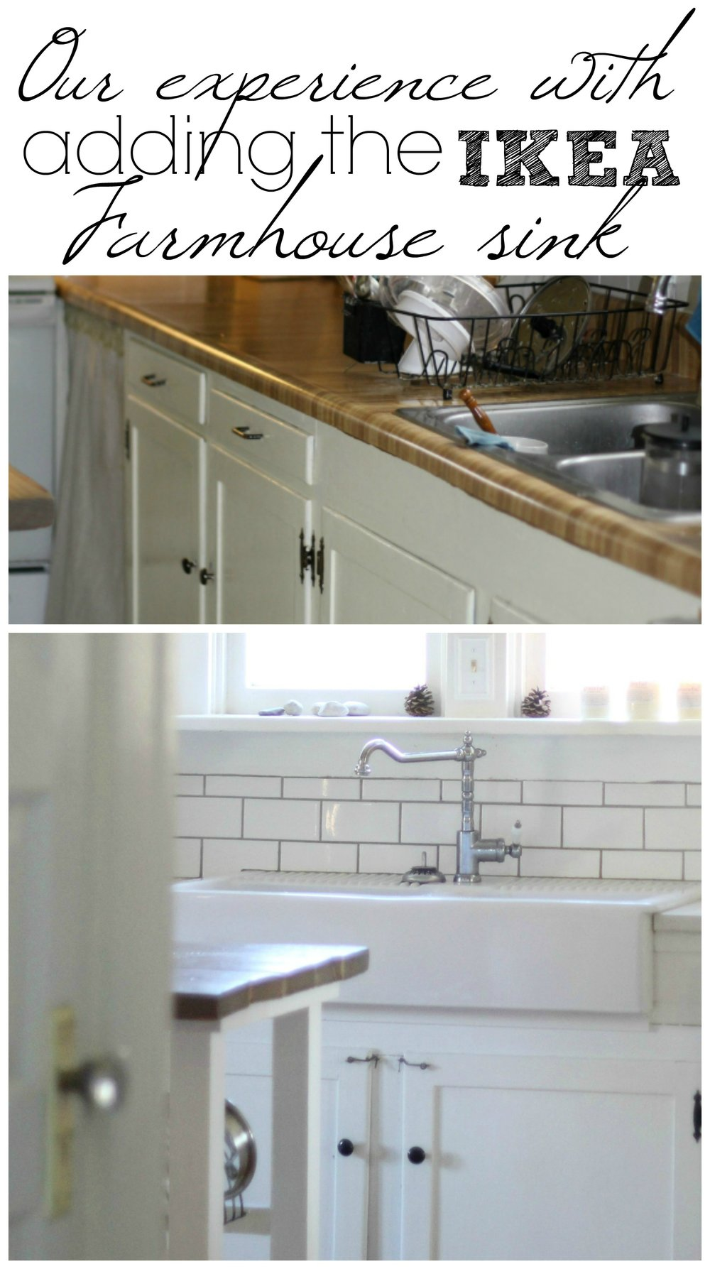 Our Experience With The Ikea Domsjo Double Bowl Farmhouse Sink