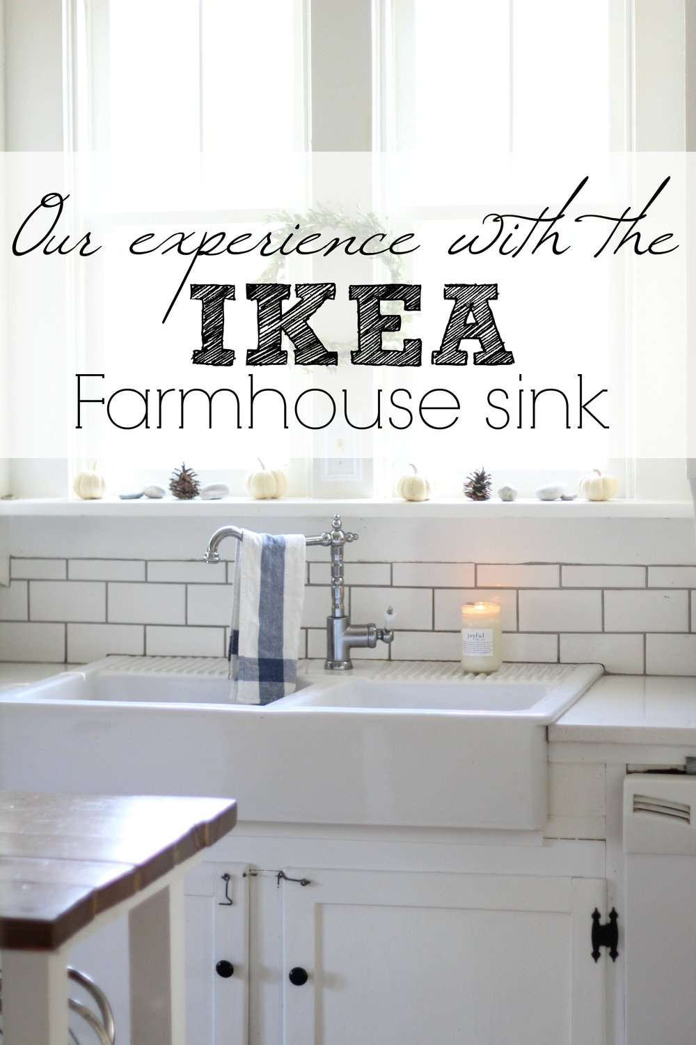 Incroyable Our Experience With The IKEA Domsjo Double Bowl Farmhouse Sink   Farmhouse  On Boone