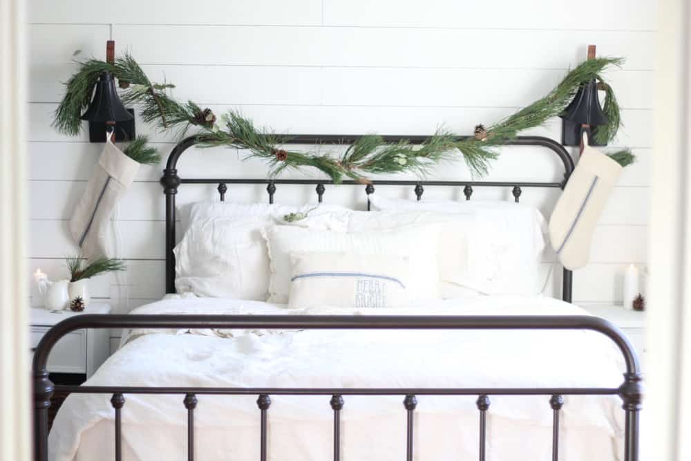 A Review of Our Iron Bed from Target - Farmhouse on Boone