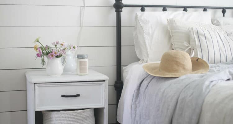 Summer Farmhouse Bedroom Tour