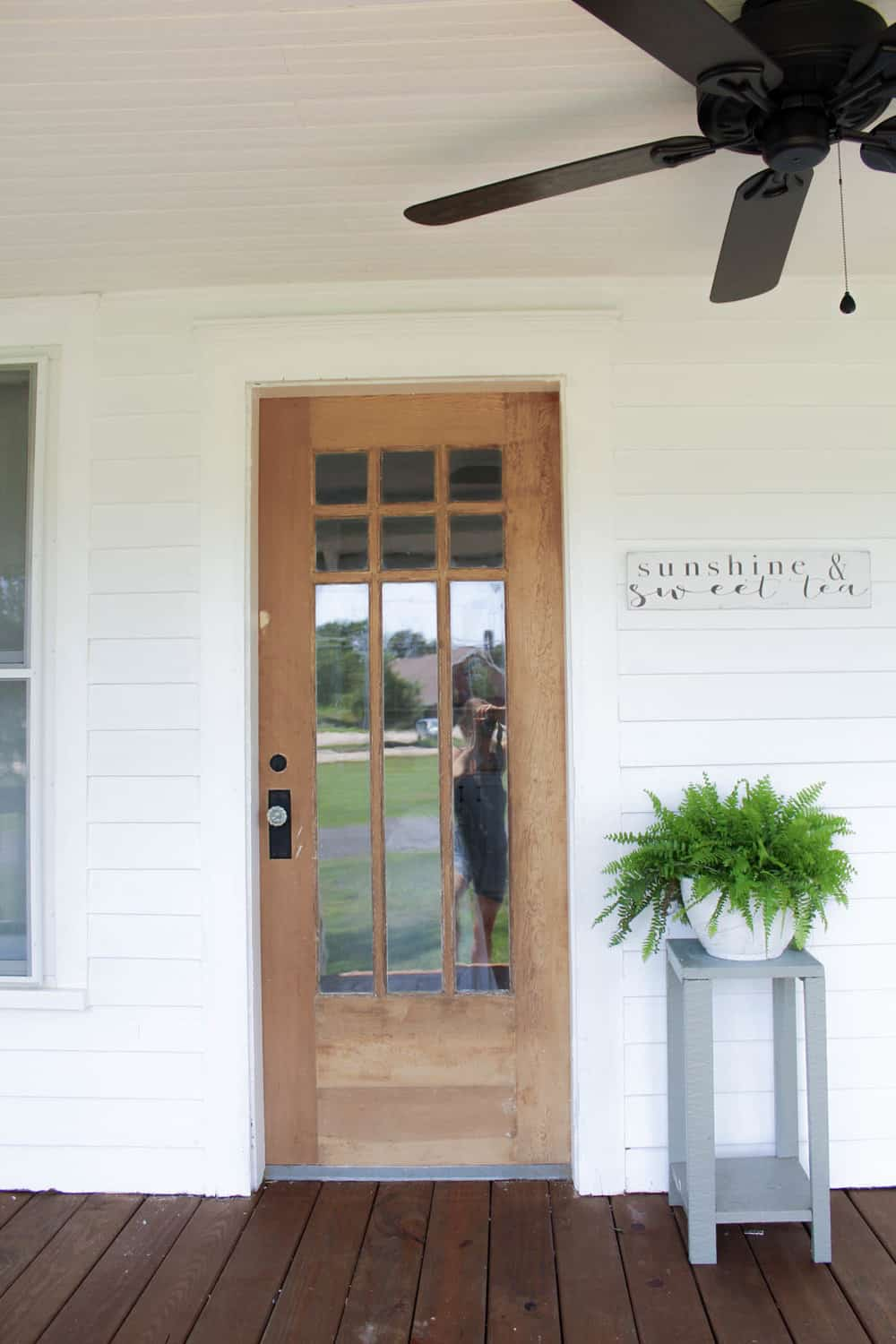 But for now, this is your little sneak peak. - How To Strip Paint Off An Antique Wood Farmhouse Front Door