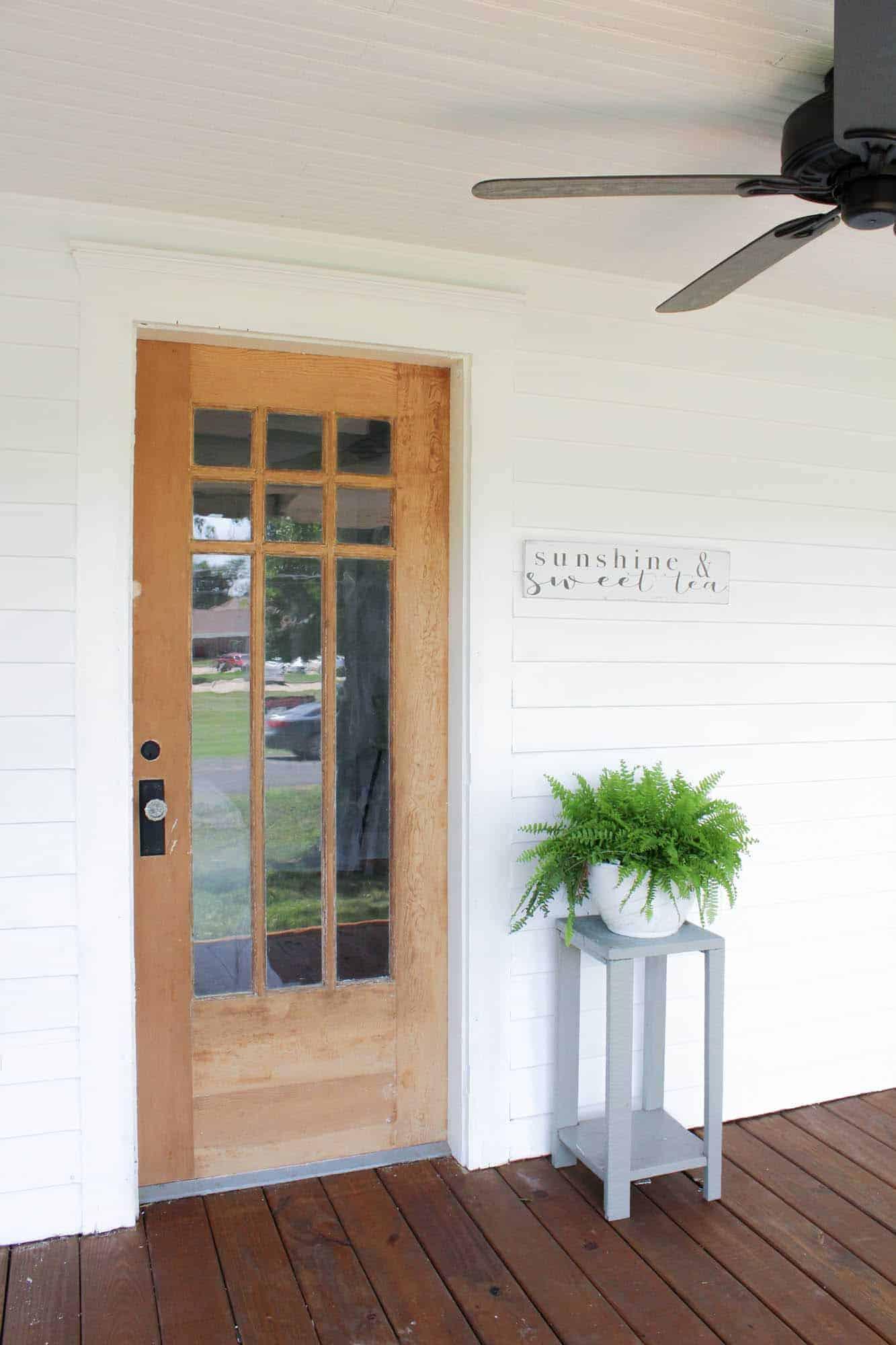 how to get paint off of wood doors