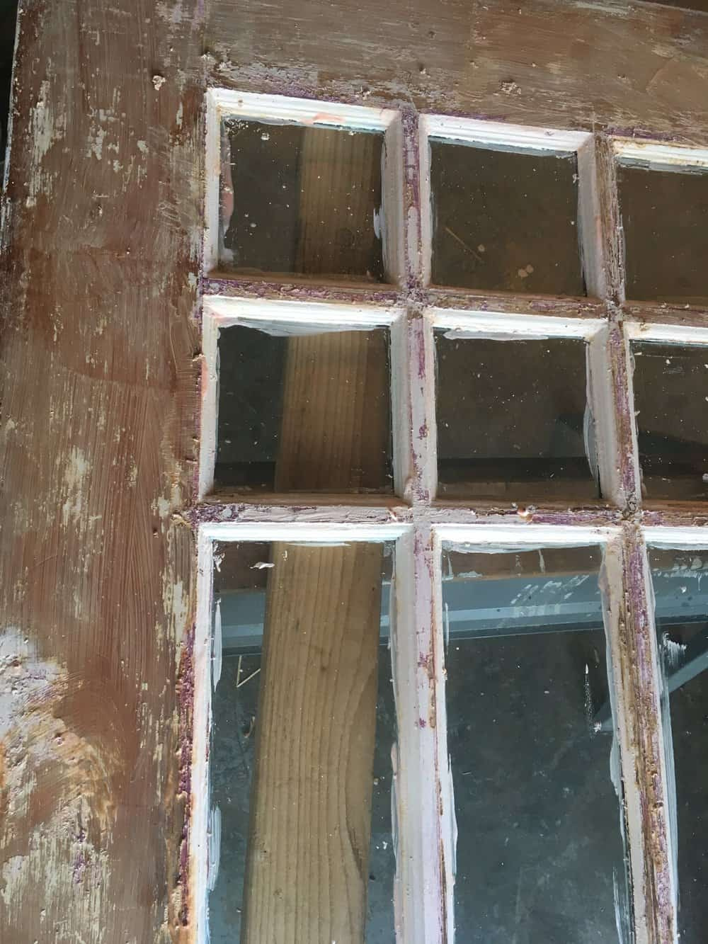How To Strip Paint Off An Antique Wood Farmhouse Front