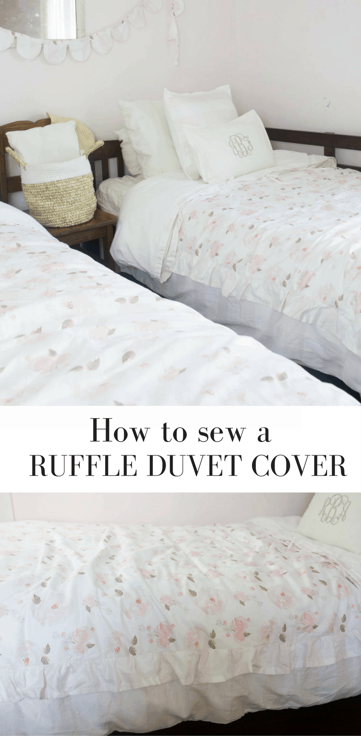 how to put on a duvet cover with ties