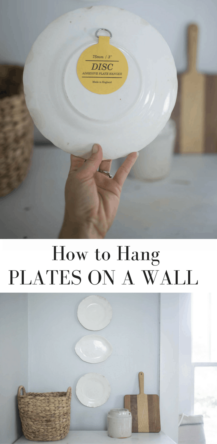 Learn How to Hang Plates on a Wall With This Simple Trick- Includes a Video Tutorial