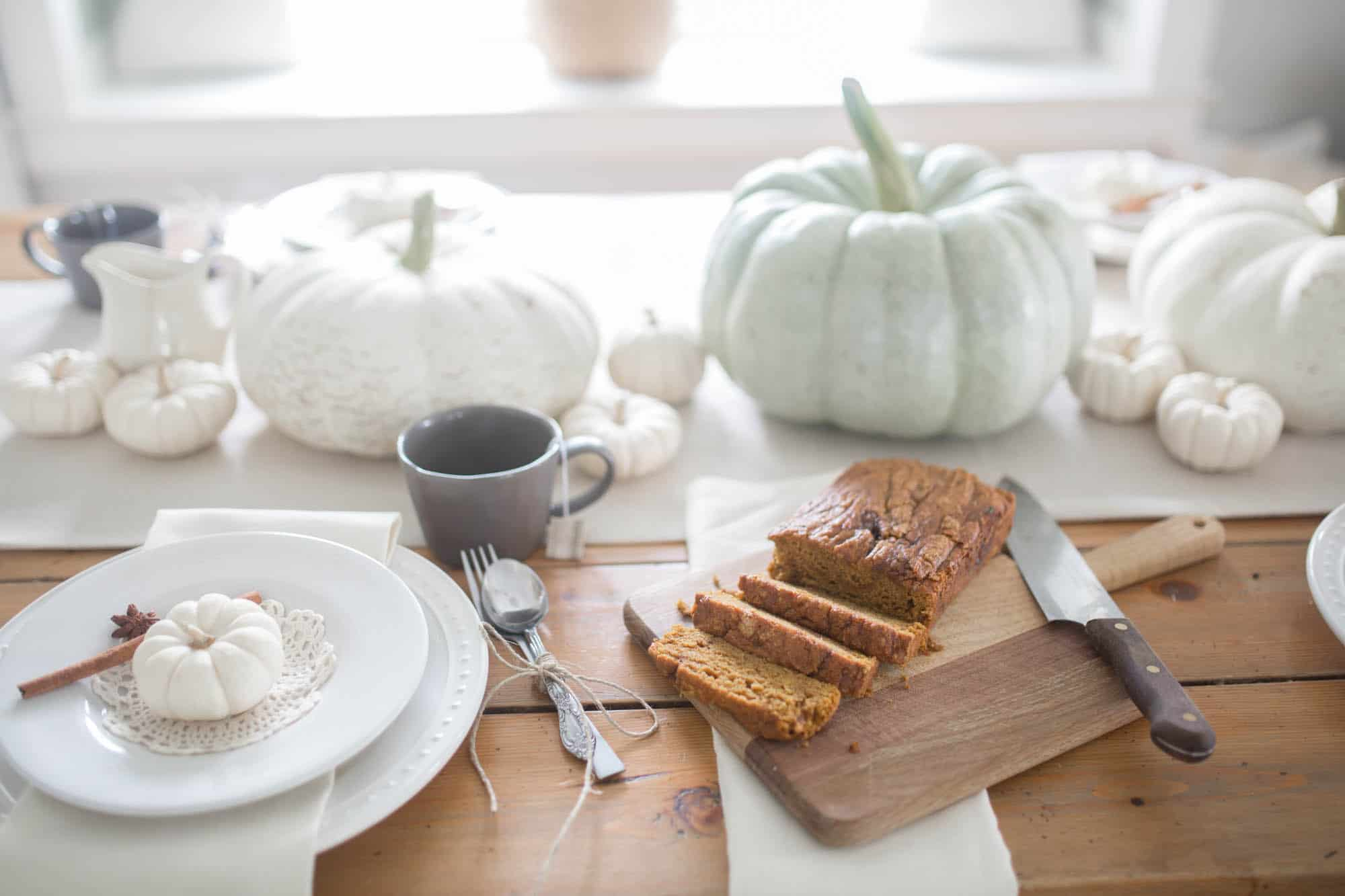 Farmhouse Fall Home Tour Cozy Fall Farmhouse Table Setting