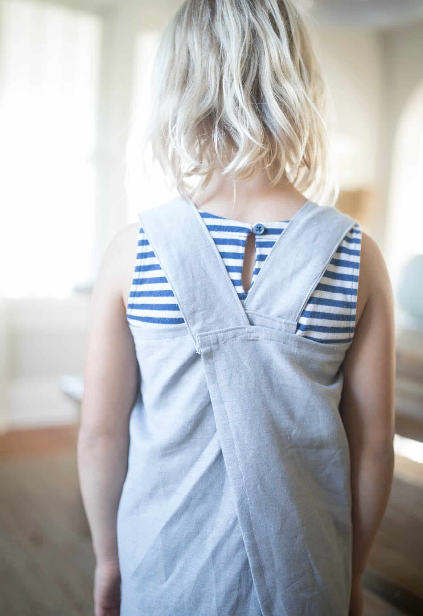 Learn How to Sew a Pinafore Apron with Video Tutorial and Free Pattern Included