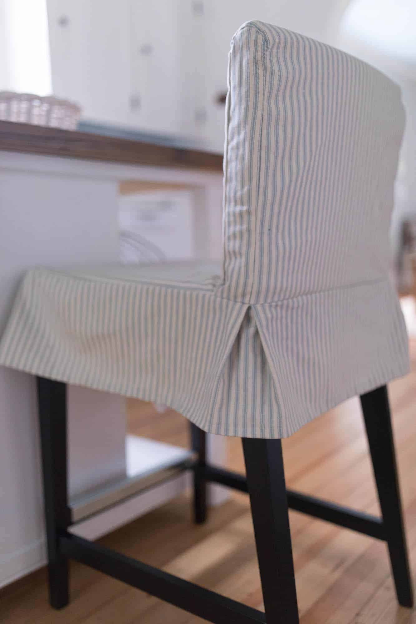 I Hope You Found This Tutorial On How To Sew A Parsons Chair Slipcover Helpful Enjoyed The Process And Love Way They Turned Out