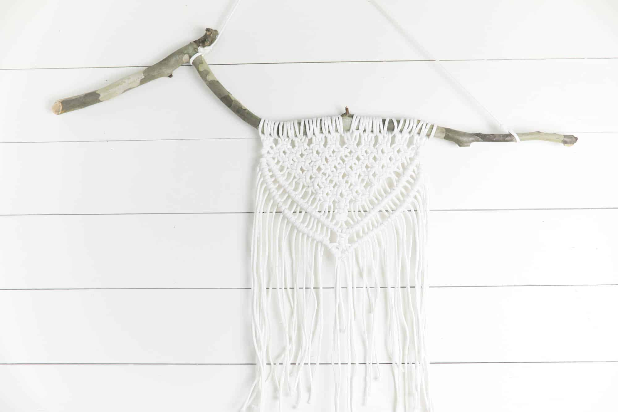 Macrame Wall Hanging Diy Farmhouse On Boone