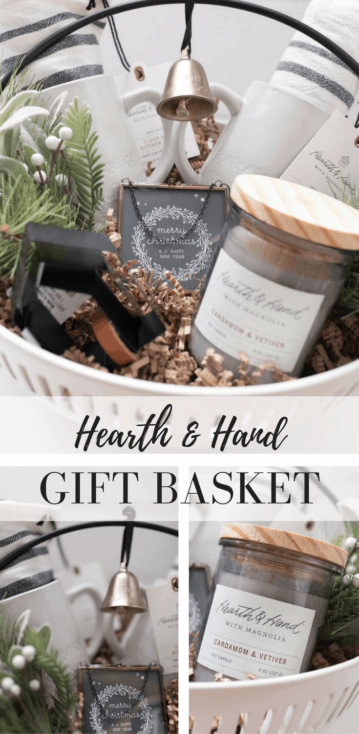 Hearth and Hand Christmas Gift Basket Gift Idea for the Farmhouse Decor Lover on Your List