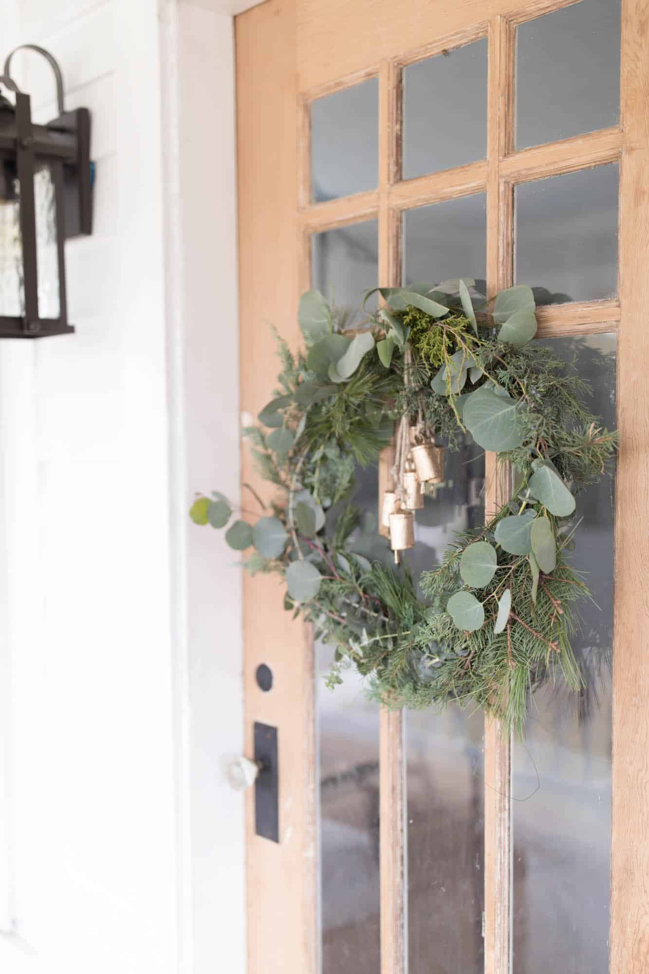 DIY Wreath Christmas- How to Make Fresh Christmas Wreath