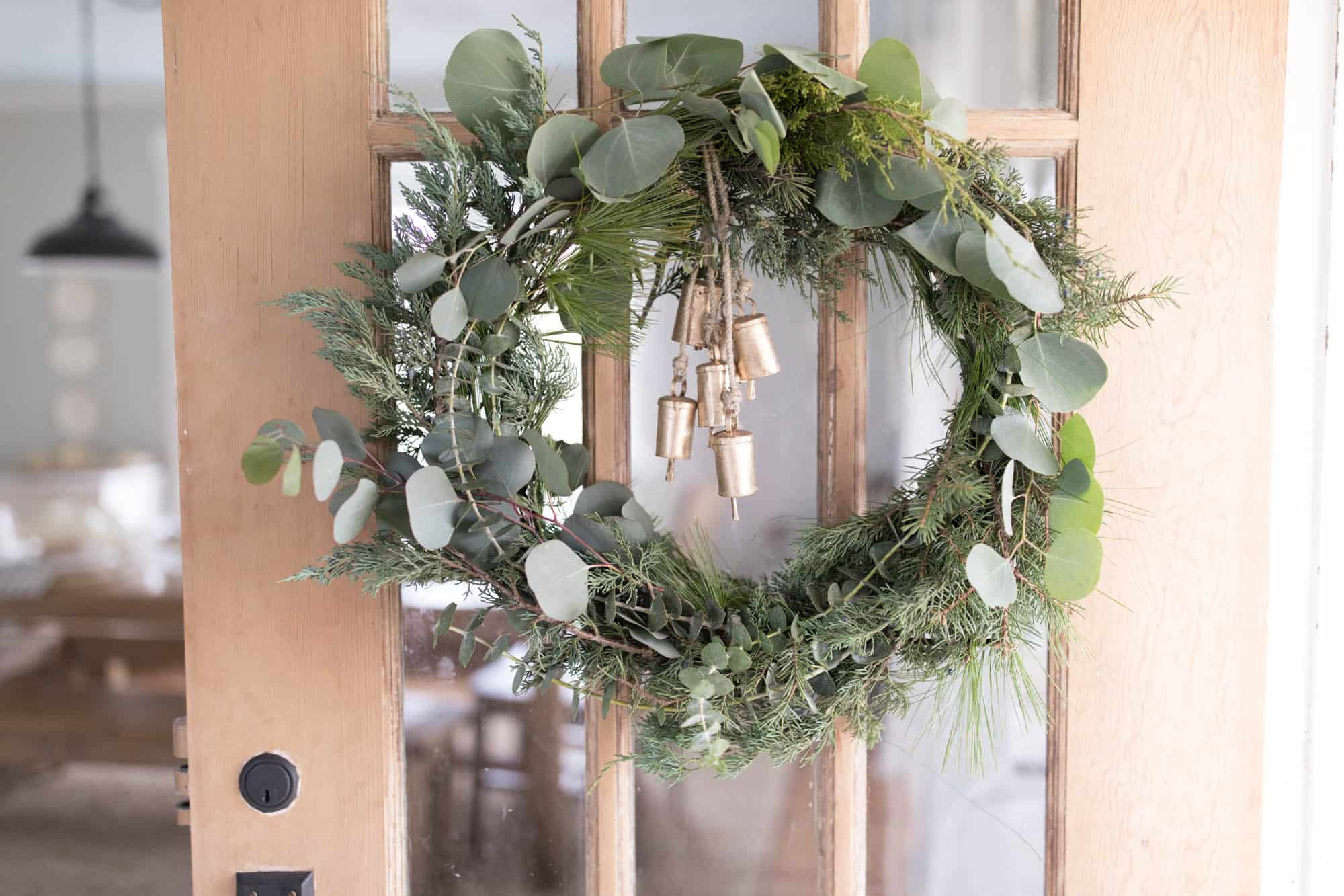 diy wreath christmas how to make a scandinavian christmas wreath - Fresh Christmas Greenery