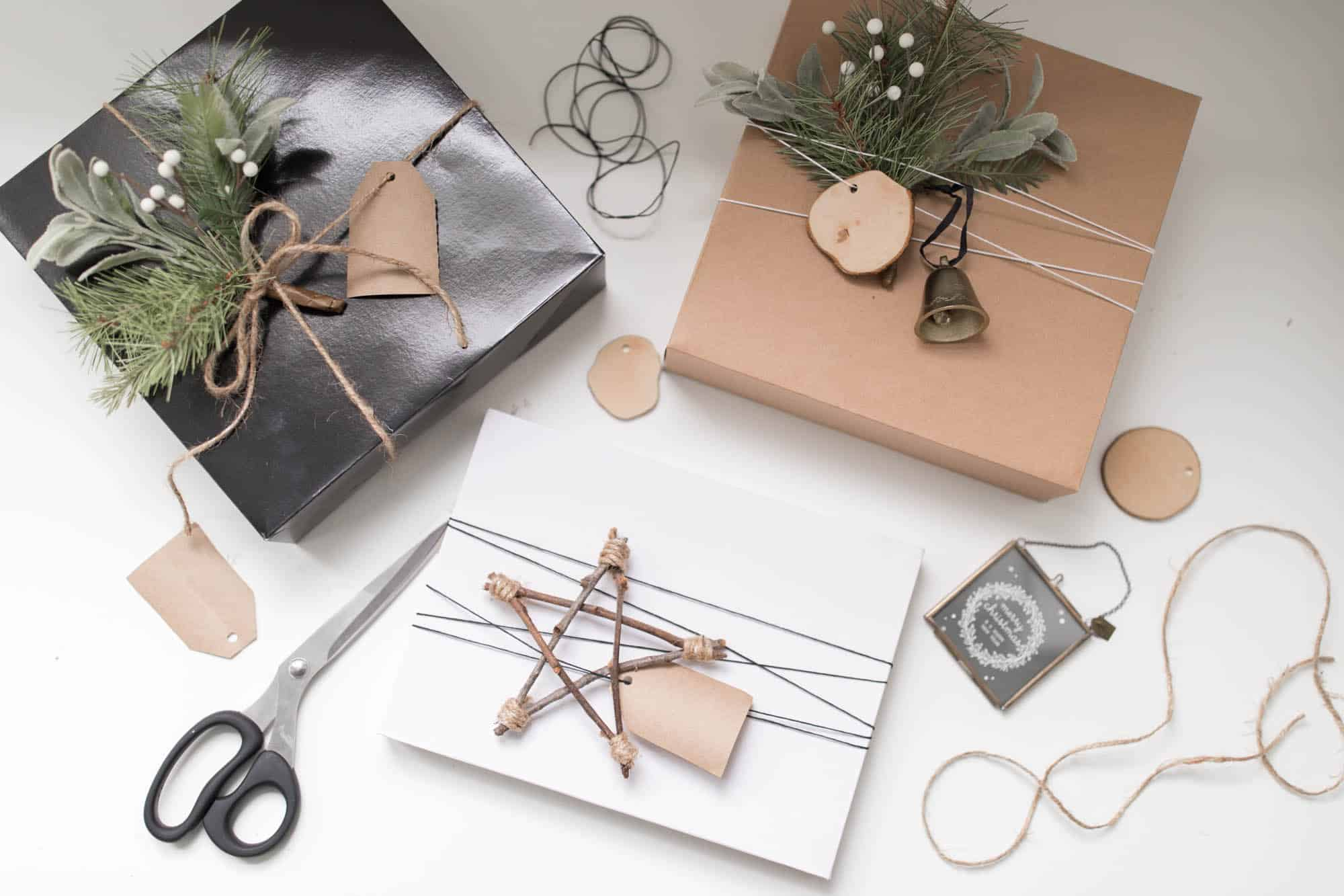 Scandinavian Christmas Gift Wrap Ideas