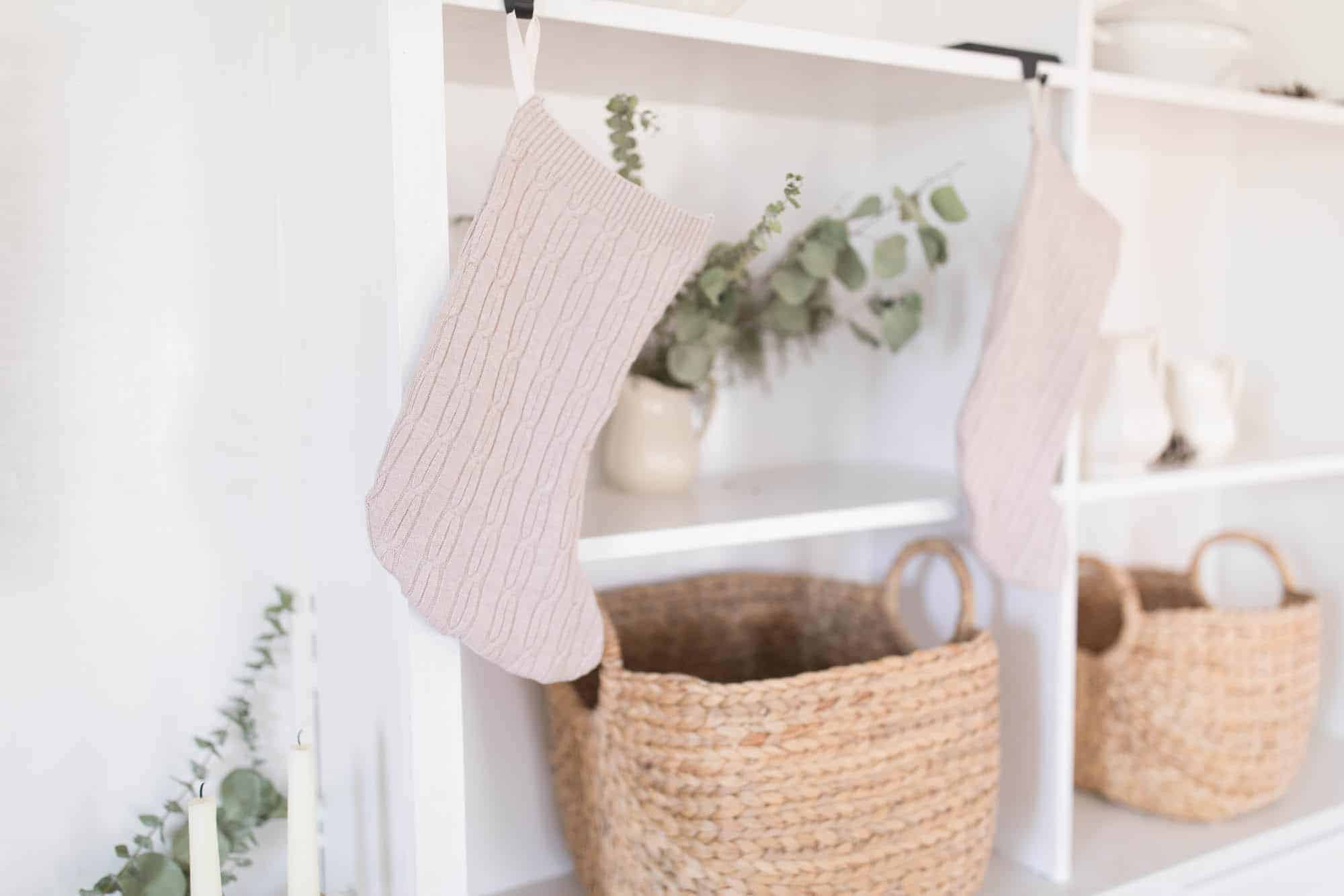 DIY Christmas Stockings from Sweaters Simple Video Tutorial