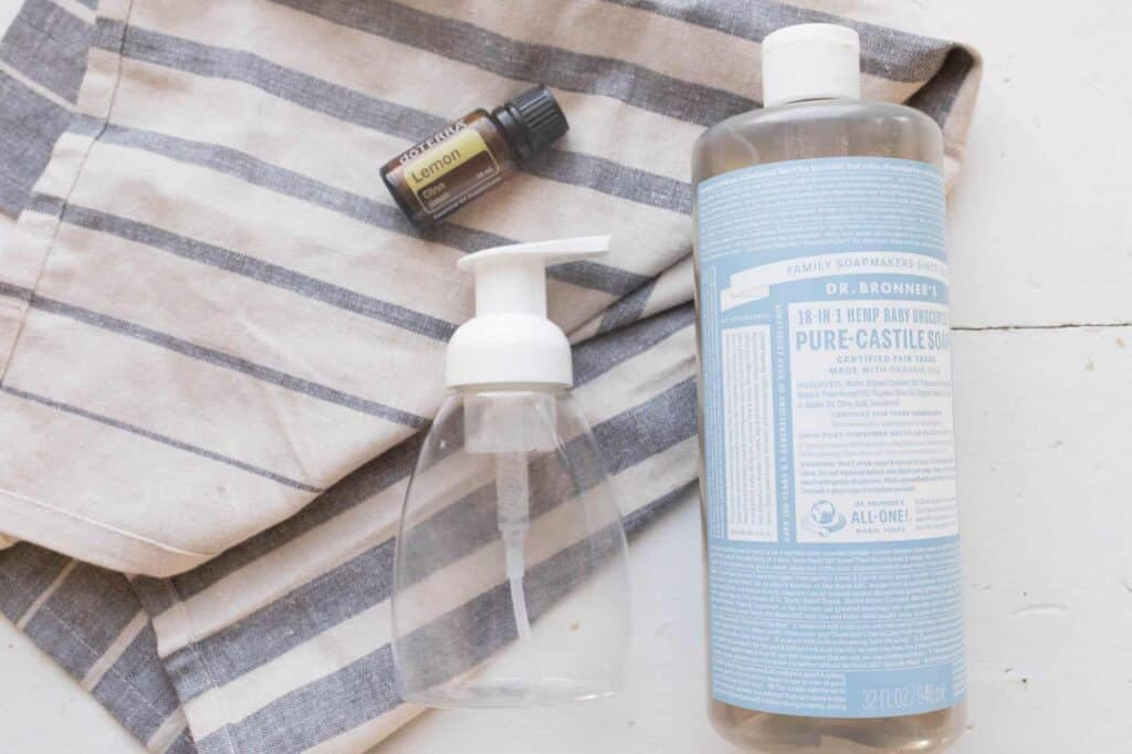 Easiest DIY Foaming Hand Soap Recipe - Farmhouse on Boone