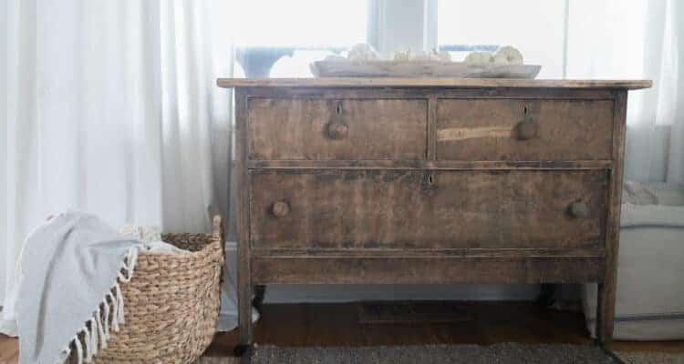 How to Strip Paint from an Antique Dresser
