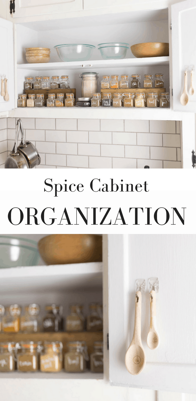 Spice Cabinet Organization Video Tutorial