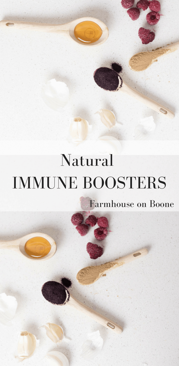 Natural Immune Boosters and Flu Fighters