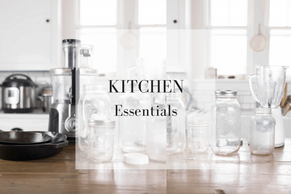 My top ten kitchen essentials for a traditional foods kitchen