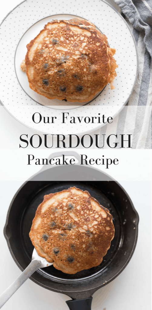 Sourdough Pancake Recipe Six Basic Ingredients