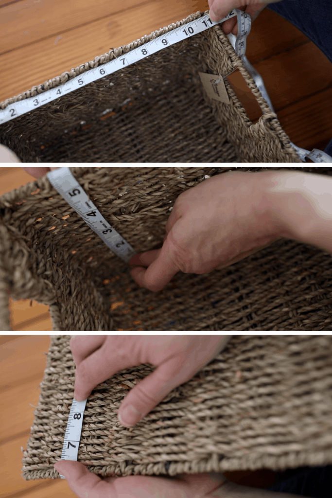 How to make a basket liner sewing video tutorial