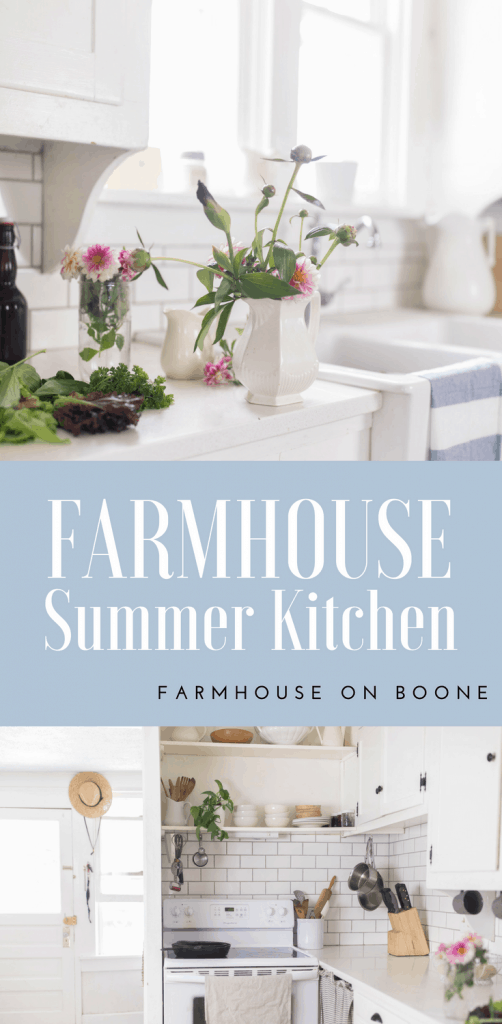 Farmhouse Kitchen Summer Decor farmhouse decor