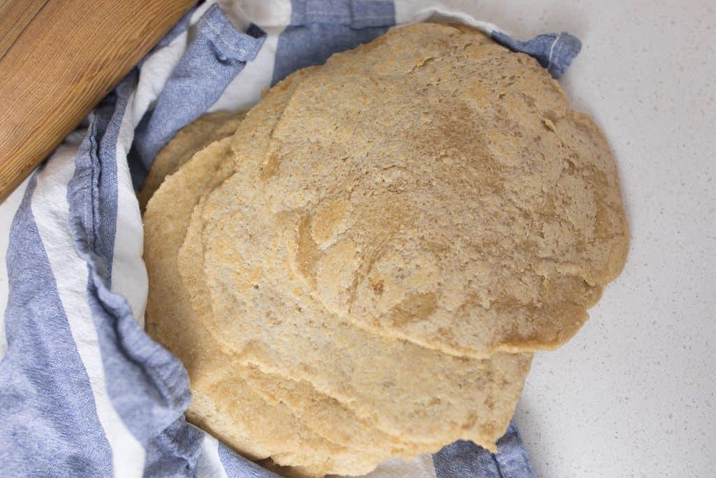 long fermented sourdough tortillas traditional food