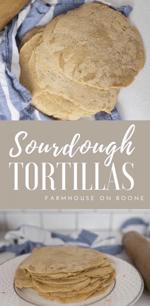 Sourdough Tortillas Recipe How to make sourdough tortillas from scratch