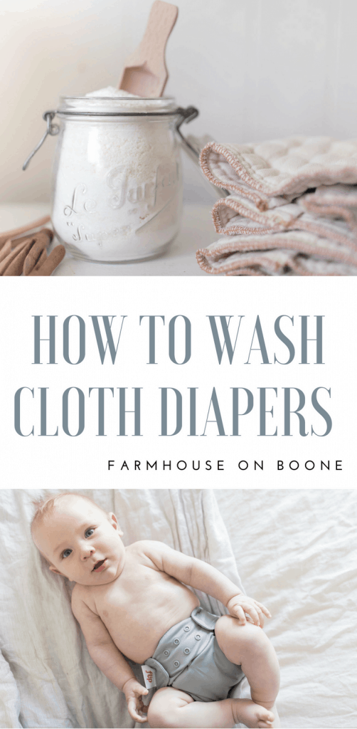 How to Wash Cloth Diapers my natural washing routine and a diy cloth diaper detergent recipe