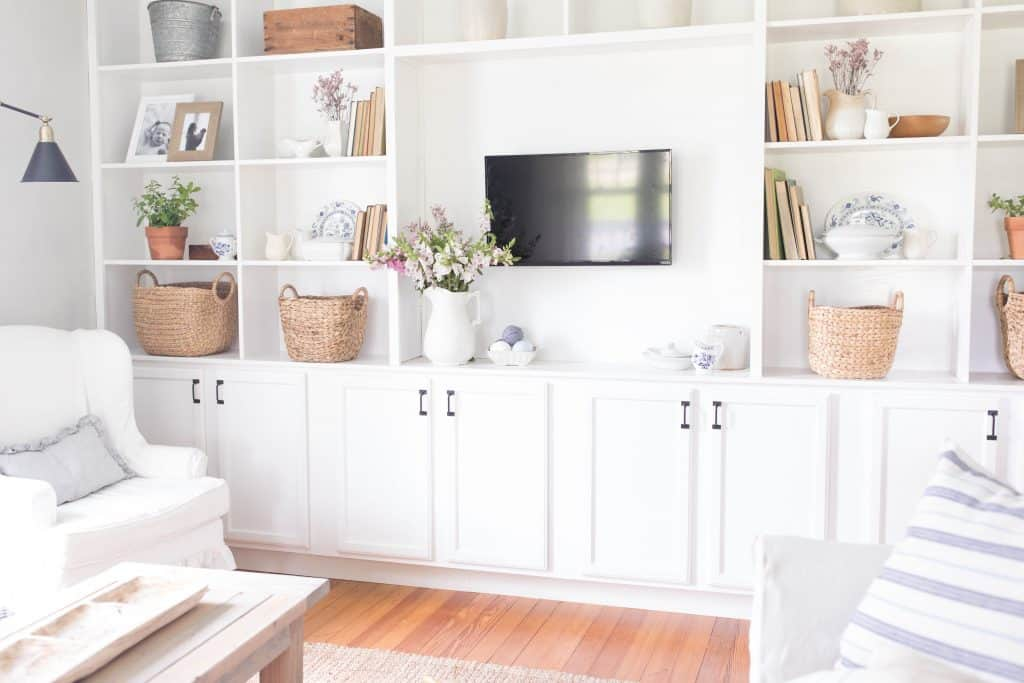 How To Style Built Ins Decorate With Me Video